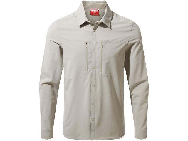 Craghoppers NosiLife Pro Long Sleeved Shirt Men parchment